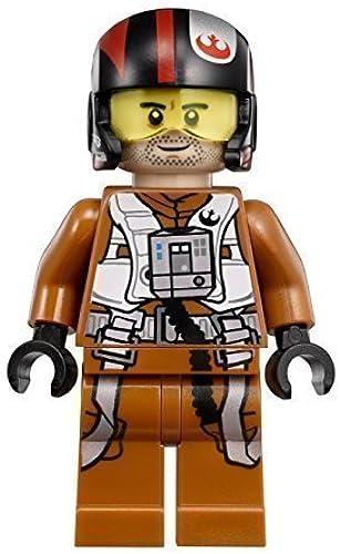 marca famosa LEGO Star Wars Wars Wars  The Force Awakens Poe Dameron X-Wing Pilot Minifigure by LEGO  comprar descuentos