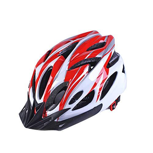 Athyior Casco Bicicleta Adulto Ciclismo Seguridad Helmet Casco Bici Ajustable 54-64cm para...
