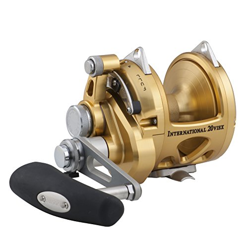 Reels Saltwater Lever Drag Penn INT30VISX International Leverdrag Conventional 2-Speed Reel 30