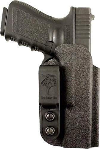 DeSantis Slim-Tuk InsideFits S&W M&P 9/40 Compact & Full Size Ambidextrous Kydex Pants Holster, Black