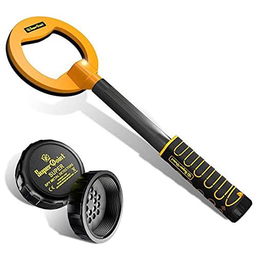 FUYY VIIPOODetector De Metales, Detector Recargable USB Totalmente Impermeable, Diseño Liviano para La Caza del Tesoro, Alta Sensibilidad, Short
