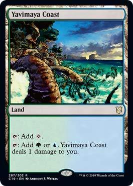 Magic: The Gathering - Yavimaya Coast - Commander 2019