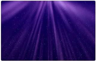 Tree26 Indoor Floor Rug/Mat (23.6 x 15.7 Inch) - Abstract Stars Light Purple Background Wallpaper
