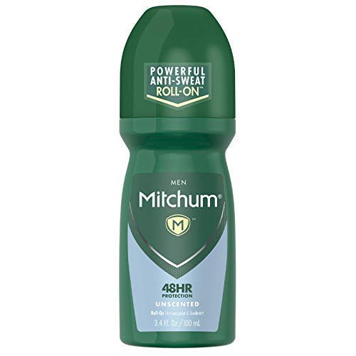 Mitchum Advanced Antiperspirant & Deodorant, Unscented, 3.4 Ounce (Pack of 6)