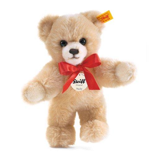 Steiff 19272 Teddybär Molly, 24 cm, stehend, Plüschbär blond, Kuschelteddy Schmuseteddy