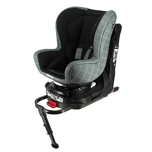 nania Siège Auto pour bébé Isofix et Jambe de Force pivotante REVO Groupe 0+/1 (0-18kg) et avec Protection latérale London