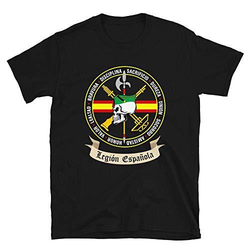 DKISEE X0590 - Camiseta de infantería del ejército militar de España de la Legión Española Legionario Muerte Boyfriends 1920 Millan Astray Army Soldados del Ejército de España