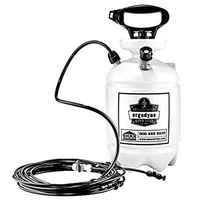 Portable Outdoor Misting System, Includes Straps to Attach to Tent Canopies or Fences, Ergodyne Shax 6095,Orange