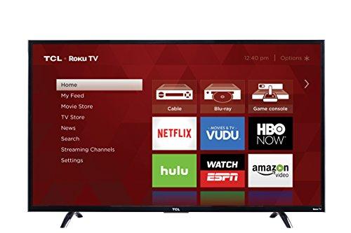 50 inch roku tvs TCL 50UP130 50-Inch 4K Ultra HD Roku Smart LED TV (2016 Model)