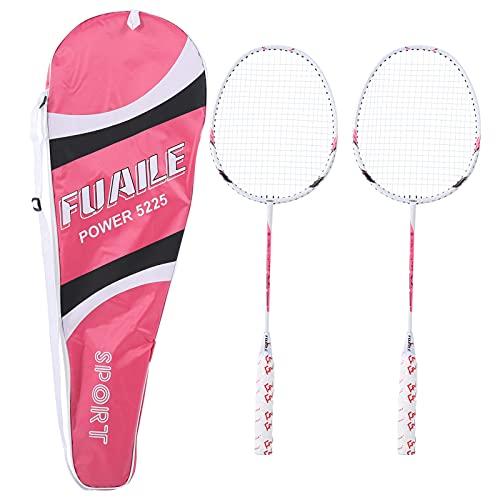 Yinuoday Badminton Schläger Aluminium Legierung Federball Schläger Sport Ausrüstung mit Tragen Tasche