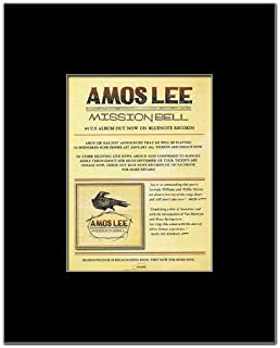 Music Ad World AMOS LEE - Mission Bell Mini Poster - 13.5x10cm
