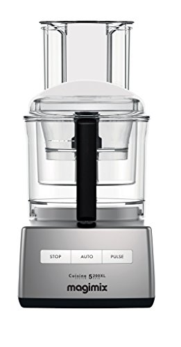 Magimix Compact 5200 XL Chrome 1100 Watt Food Processor...