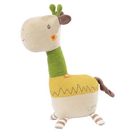FEHN 059205 Kuscheltier Giraffe XL / Spielgefährte, Beschützer & Kuschelfreund: Großes Stofftier zum Greifen, Fühlen und Knuddeln, für Babys und Kleinkinder ab 0+ Monaten