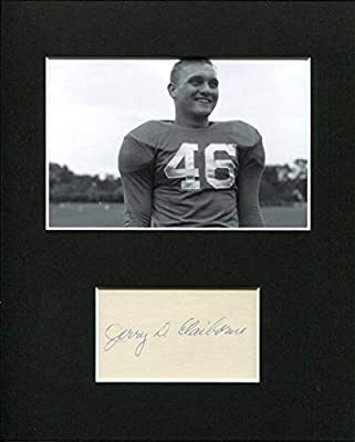 Jerry Claiborne Kentucky Wildcats Virginia Tech Maryland Signed Photo Display - Autographed College Photos