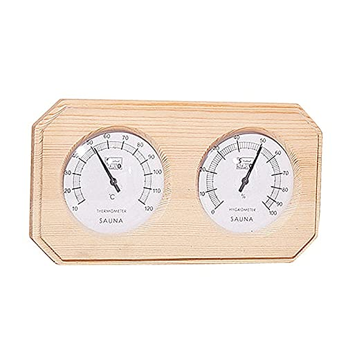 huanyudaeroy Sauna Wooden Thermometer Saun Double Hygrometer El Paso Mall Popular brand in the world and