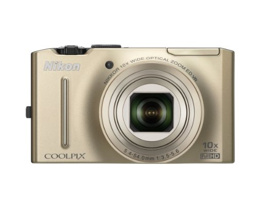 Save %80 Now! Nikon Coolpix S8100 12.1 MP CMOS Digital Camera with 10x Zoom-Nikkor ED Lens and 3.0-I...