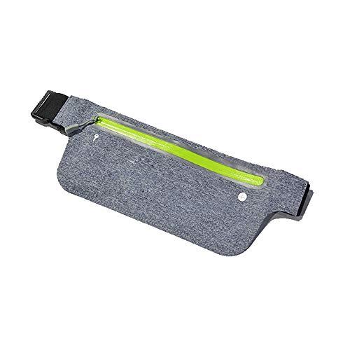 ILYO Poches pour téléphones Portables de Sport fonctionnant avec Une Ceinture extérieure multifonctionnelle imperméable, Poches de Corps Minces et Invisibles