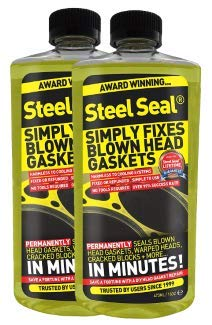Steel Seal Blown Head Gasket Fix Repair Sealer - 6 Cylinder