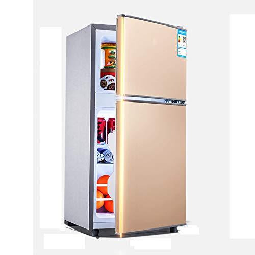 HALIGHT 7.06 pies cúbicos Refrigerador, Mini refrigerador con congelador Superior, Temperatura Ajustable, estantes extraíbles, Ultra silencioso, Ideal para Almacenamiento de Alimentos y Bebidas