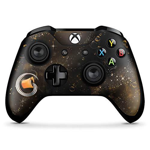 DeinDesign Skin kompatibel mit Microsoft Xbox One X Controller Aufkleber Folie Sticker Sternzeichen Wassermann Astrologie