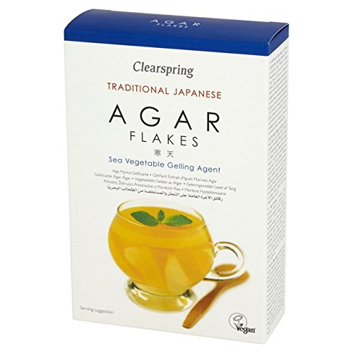 Clearspring Omaha Mall Agar 5 ☆ very popular Flakes 28g 6 - of Pack
