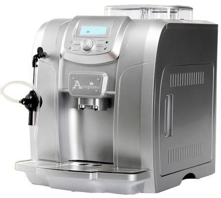 Acopino Ravenna Kaffeevollautomat und Espressomaschine,schwarz