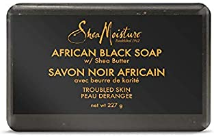 Sheamoisture African Black Soap for troubled skin Shea Butter 230 g