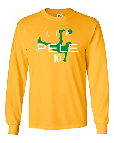 The Silo Long Sleeve Gold Brazil Air Pele T-Shirt Youth