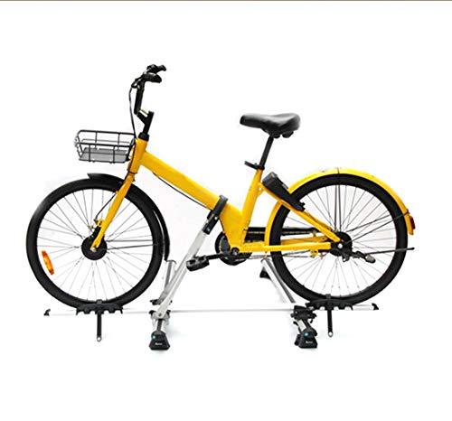 LYzpf Portabicicletas Techo Bicicleta Coche Enganche Almacenamiento Transporte Portátil Exterior Universal Fácil...