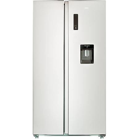 CHiQ FSS559NEI32D réfrigérateur congélateur american, 559L, compresseur inverseur, froid ventilé, total no frost,acier inoxydable, A++, niveau sonore maximum 42db, distributeur d'eau 5 litres