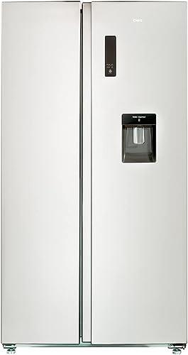 CHiQ FSS559NEI32D réfrigérateur congélateur american, 559L, compresseur inverseur, froid ventilé, total no frost,acie...