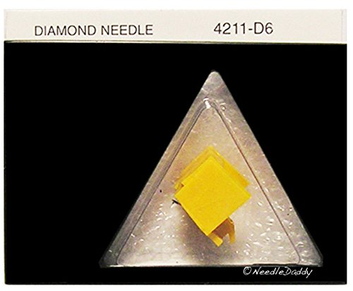 RECORD NEEDLE TURNTABLE STYLUS for Yamaha CG7700 CG-7700 with AT3600LAX yellow