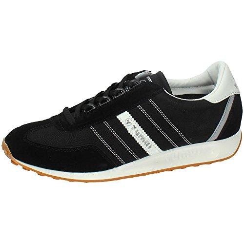 Zapatilla Sneaker Yumas New Monaco Fabricado en Piel Serraje y Microfibra Plantilla Textil para Hombre
