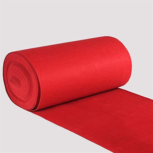 XZPENG Red Carpet - Alfombra Pasillo - fuentes de la boda - Oscar de la película temáticas Decoración de fiesta de la alfombra - resistente al desgaste, antideslizante, respetuoso del medio ambiente -