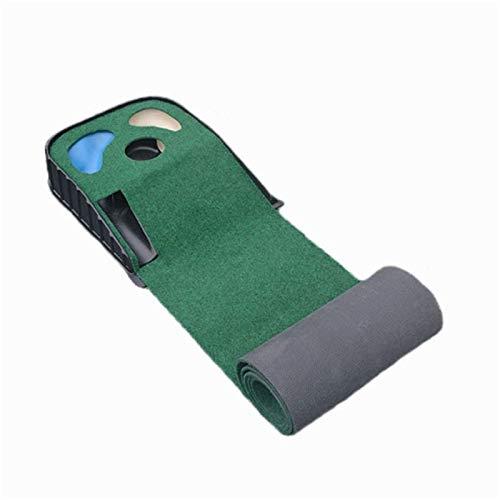 Alfombra De Golf Mini Estera De Golf Verde Portátil Profesional para Entrenamiento De Golf En Interiores Y Exteriores para Uso Doméstico En Exteriores