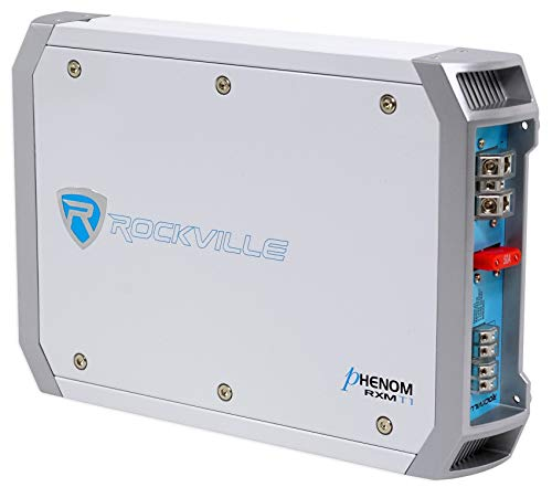 Rockville RXM-T1 1500 Watt Peak/750w RMS Marine/Boat 2 Channel Amplifier Amp New