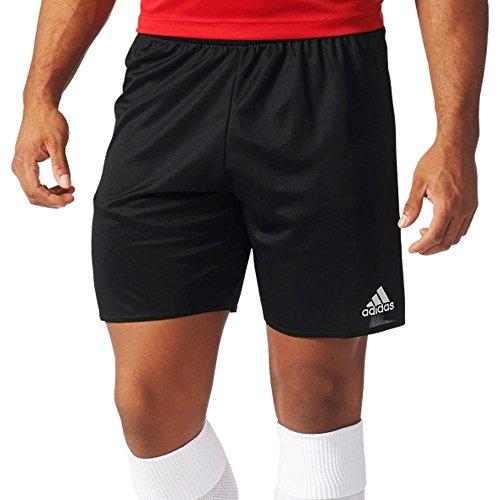 adidas Men's Soccer Parma 16 Shorts, Black/White, Medium