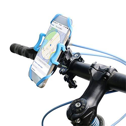 LJFZMD Soporte Motocicleta, Soporte para Teléfono Antivibración, Soporte Universal para Teléfono Celular para Motocicleta, Rotación De 360 °, para Teléfonos Inteligentes De 4'A 6.2'