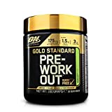 Optimum Nutrition Gold Standard Pre Workout Energy Drink Powder with Creatine Monohydrate, Beta Alanine, Caffeine and Vitamin B Complex, Green Apple, 30 Servings, 330 g