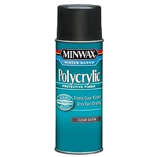 Minwax 33333000 Water-Based Polycrylic Clear Spray, 11.5 ounce Aerosol, Satin (B004BPZV4A)   Amazon price tracker / tracking, Amazon price history charts, Amazon price watches, Amazon price drop alerts