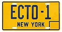 ムービーナンバープレート ECTO-1 ゴーストバスターズのナンバープレート ライセンスプレート CMプレート 看板 アメリカ雑貨 アメリカン雑貨