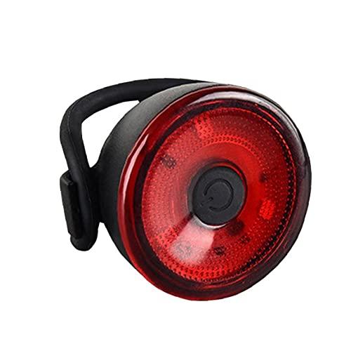 Bicicleta Luz Tipo De Batería Advertencia De La Lámpara De Luz De Seguridad Trasera De La para Completar Un Ciclo Casco De Seguridad Advertencia Montaña Lámpara De Roja