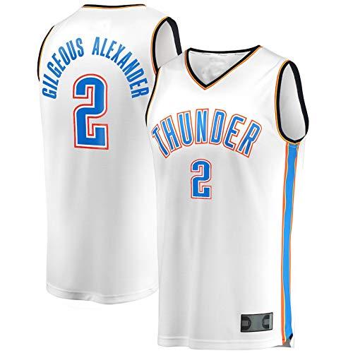 ZHILIN Oklahoma #2 - Jersey de baloncesto para jóvenes (higroscópico), diseño de Alexander