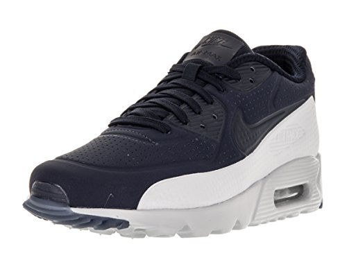 Nike - Air Max 90 Ultra Moire - Color: Bianco-Blu marino - Size: 44.0