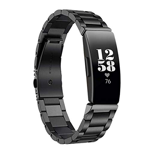 Aresh Stainless Steel Strap for Fitbit Inspire & Inspire HR