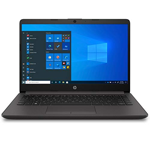HP 240 G8 - Ordenador portátil de 14� FullHD (Intel Celeron 4020, 8GB RAM, 256GB SSD, Windows 10 Home) Negro - Teclado QWERTY Español