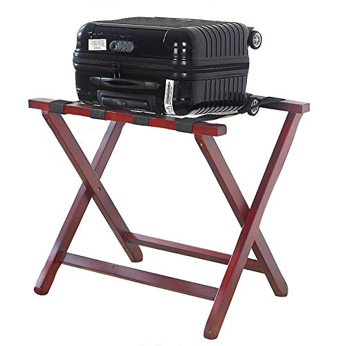 BCGT Luggage Racks Foldable Suitcase Luggage Rack, with Support Bar
