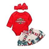 URMAGIC Jupes de Noël pour Bébés Filles, Enfant Naissance à Manches Longues...