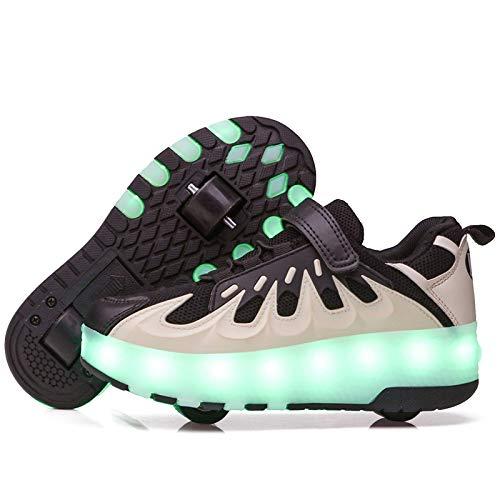 LED Zapatillas con Luces Ruedas...