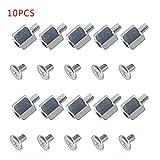 GROOMY 10 Set Kits de Montaje Manual Tornillo de separación Tuerca Hexagonal para Placa Madre SSD A-Sus M.2